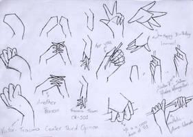 2nd tutorial: hand by TsukiAnimeGirl
