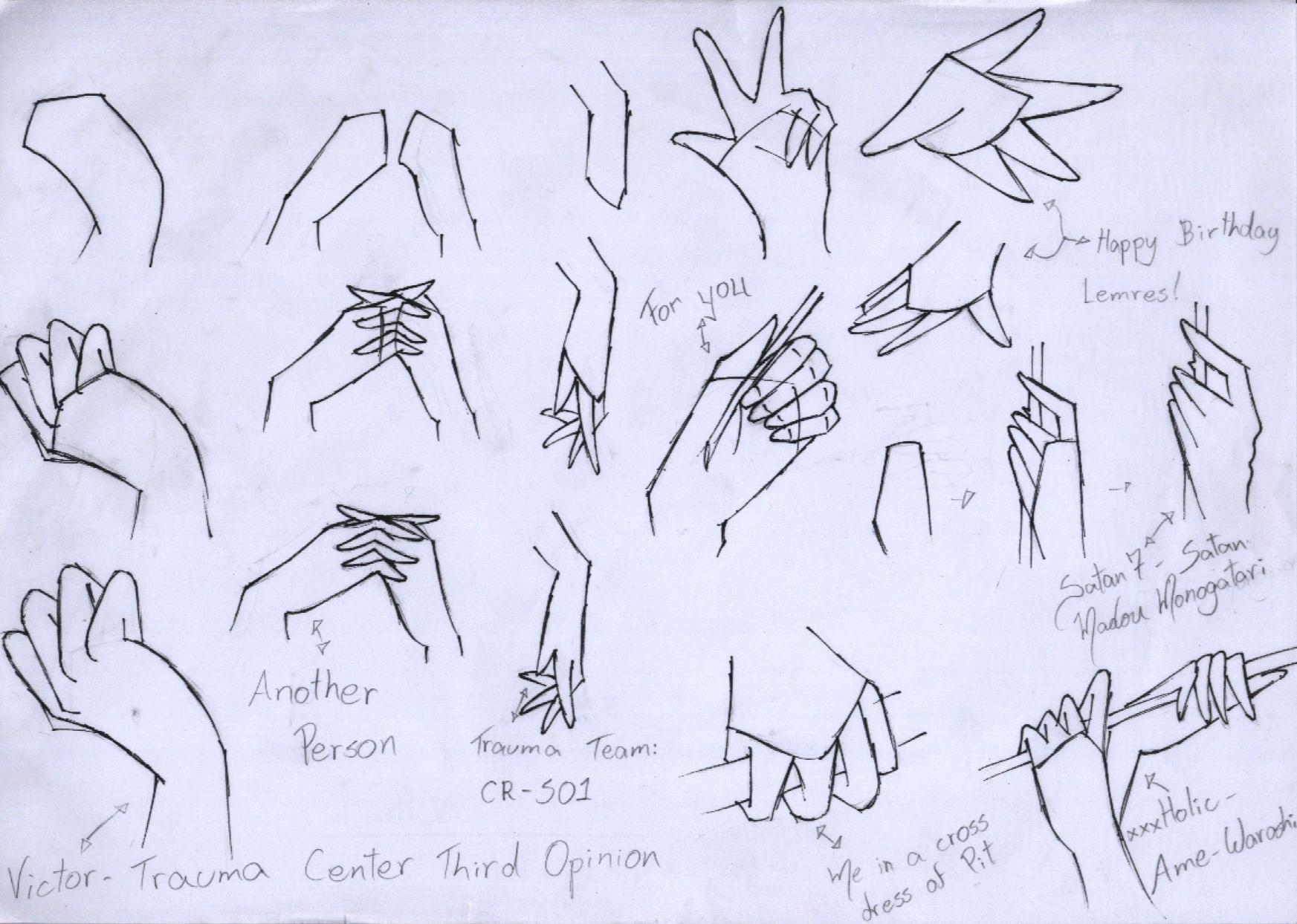 2nd Tutorial Hand By TsukiAnimeGirl On DeviantArt