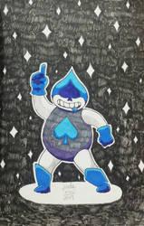 Lancer, the prince of spades by TsukiAnimeGirl