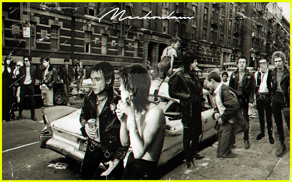 The Punk Scene by indesition