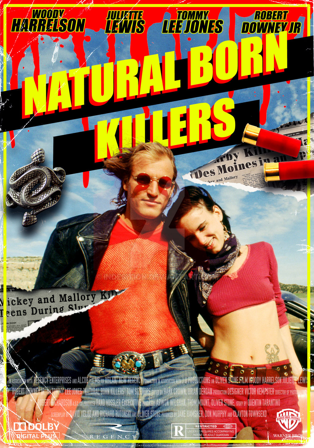 Natural Born Killers - Poster by indesition on DeviantArt