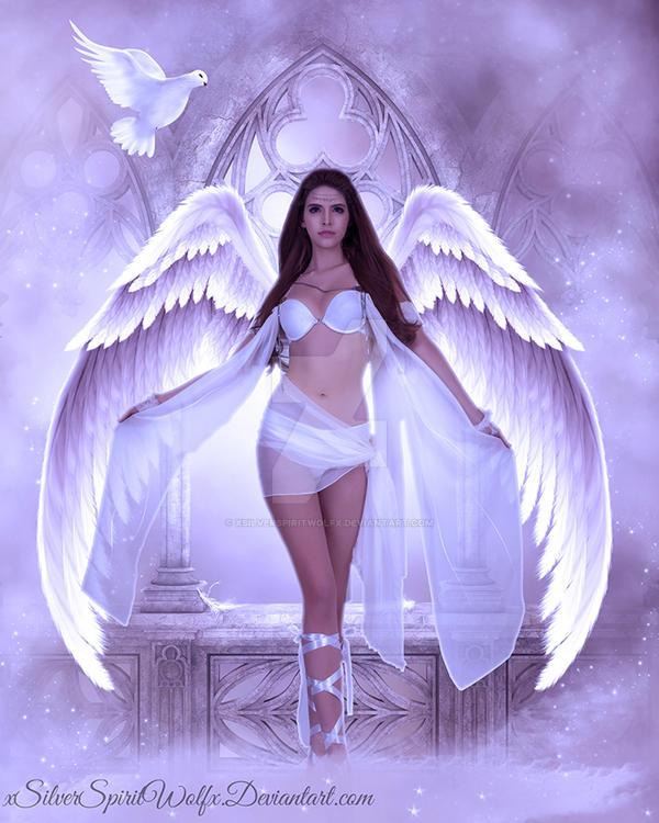 The Angel Above {R.I.P Nick Stone} by xSilverSpiritWolfx
