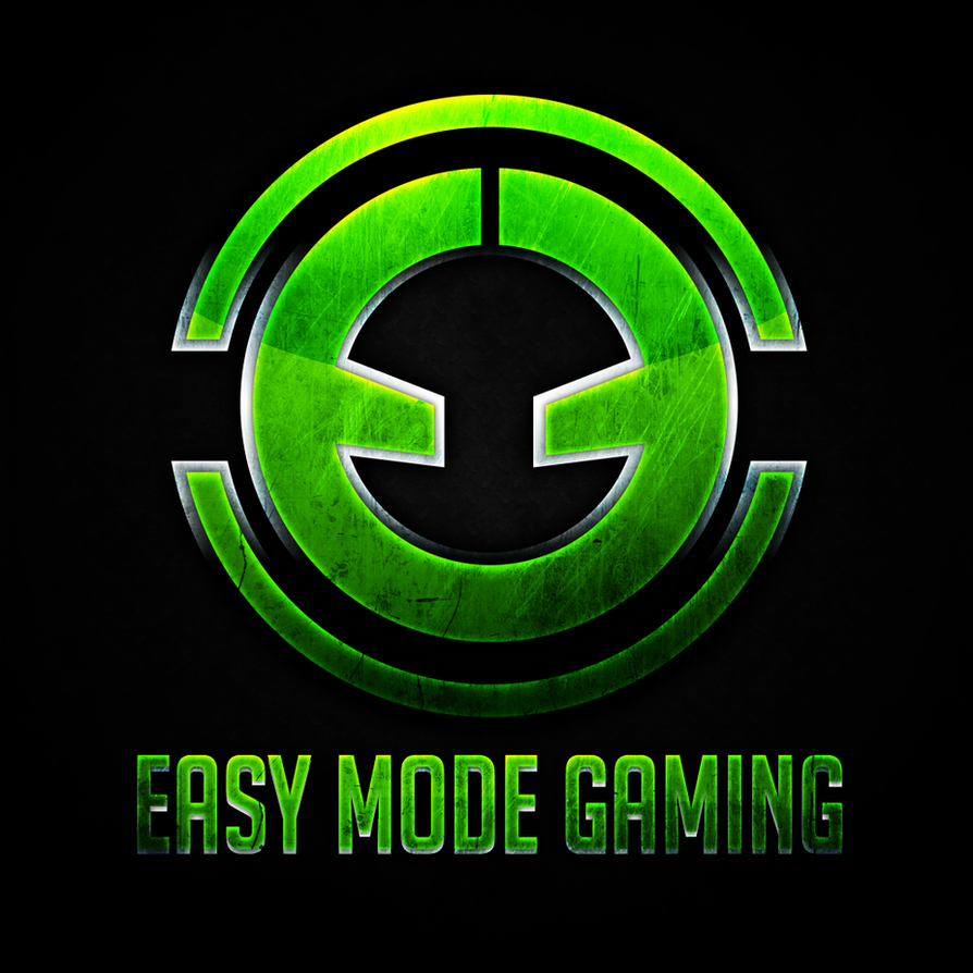 Easy Mode Gaming Logo By MasFx