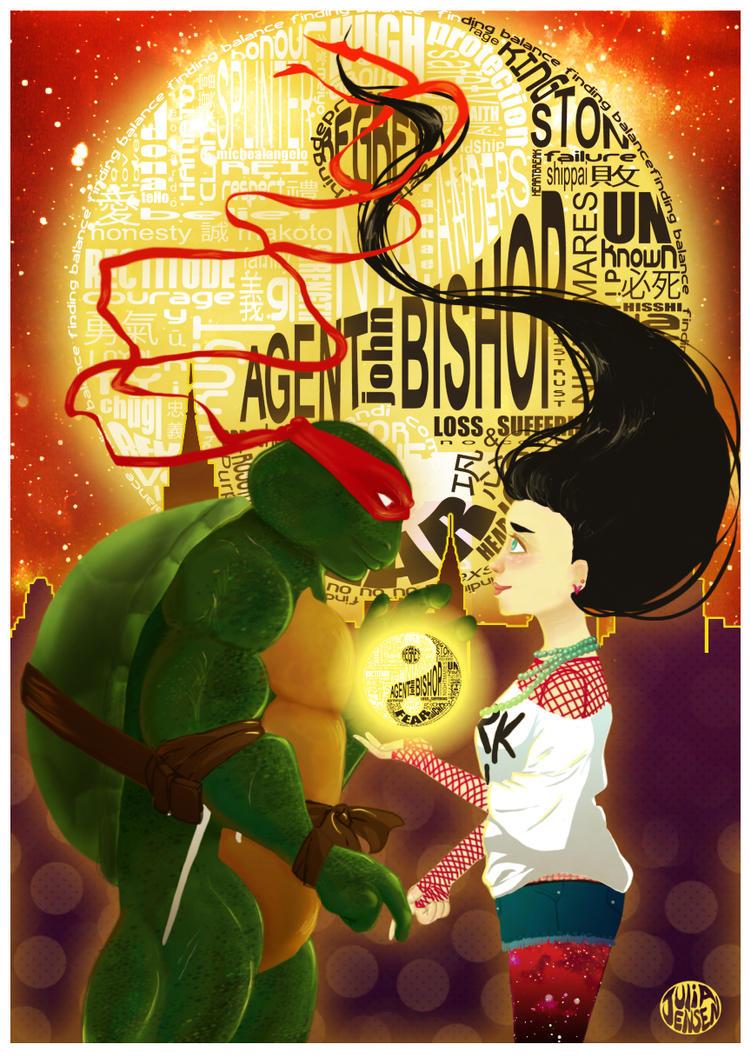 Finding Balance: Poster Illustration by Faylinn-Night