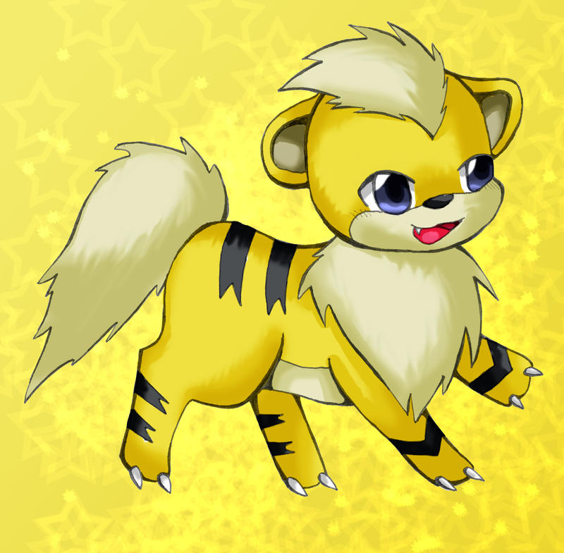 Growlithe shiny