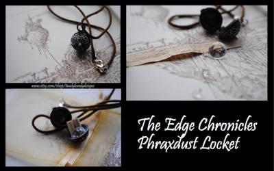 Edge Chronicles Captain Twig's Phraxdust Locket by yrantho