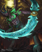 Illidan Stormrage by hyperion1224