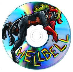 HellBell CD Portrait by FablePaint