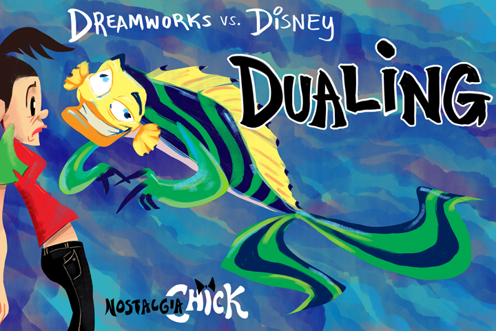 Dreamworks vs Disney2 by FablePaint