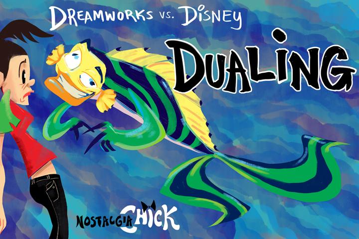 Dreamworks vs Disney2 by FablePaint