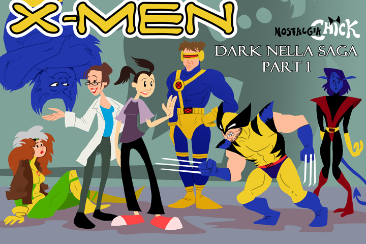 NChick: Xmen by FablePaint