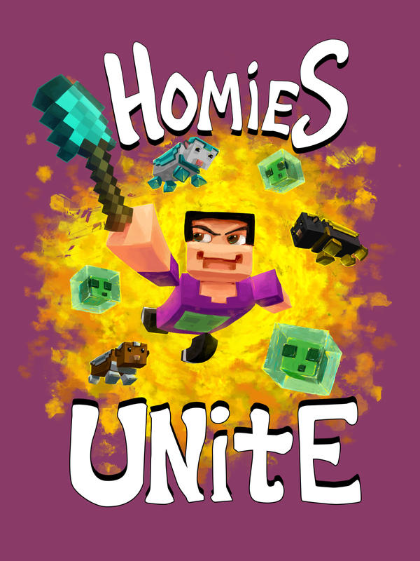 Homies Unite Shirt by FablePaint