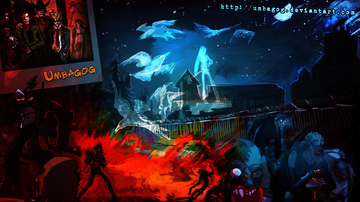 Umbagog Wallpaper by FablePaint