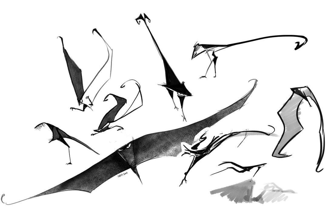 Weird bird by FablePaint