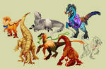 Stream raptors