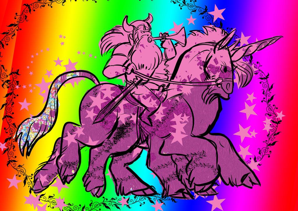 Kadalyna's Sleipnir Unicorn by FablePaint
