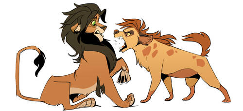 Reverse Disney: more lion king by FablePaint