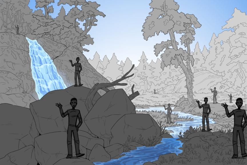 bg template forest by fablepaint on deviantart