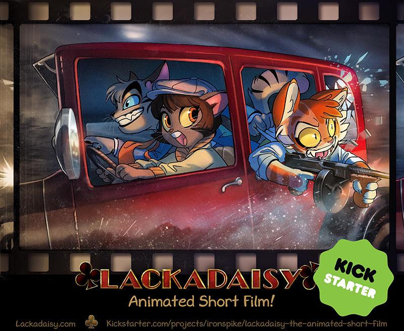 Lackadaisy Kickstarter by FablePaint