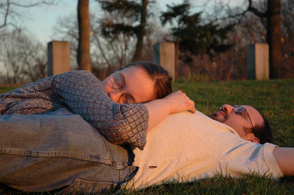 Sleeping on the Grass by celebdu