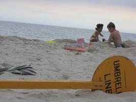 Sand Castling by celebdu