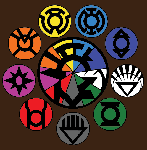 All Lantern Corps By Cyclone97 On Deviantart