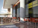 McDonald's exterior tables
