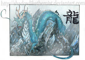 Chinese Ice Storm Dragon by JetHero13
