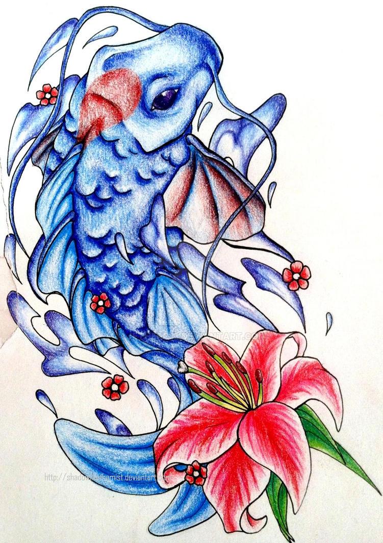 Yin and Yang koi tattoo 1 of 2 by JetHero13 on DeviantArt