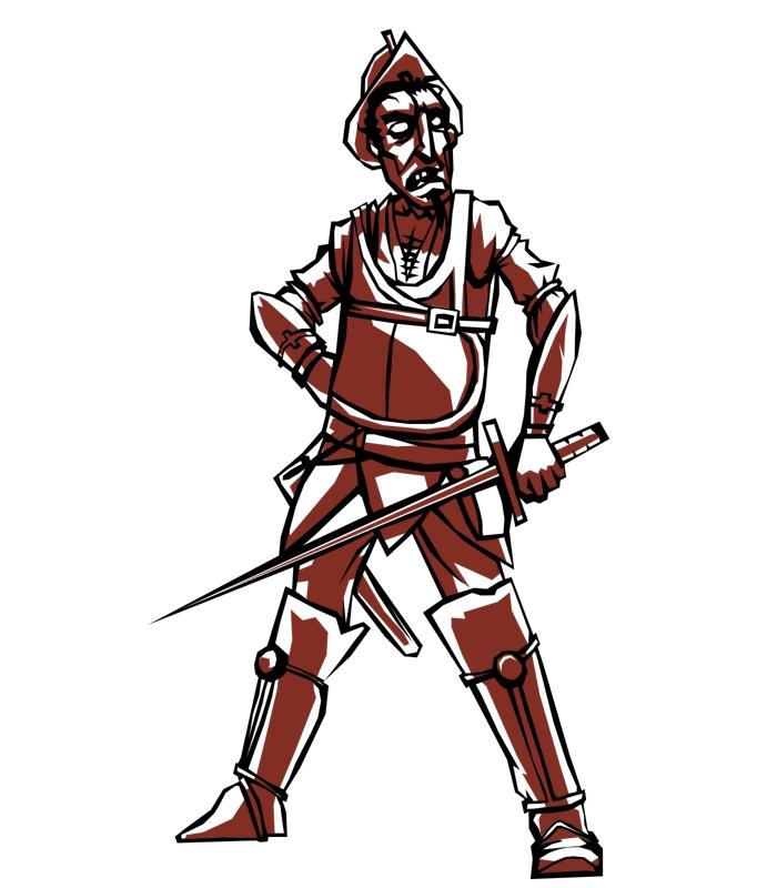Undead Conquistador by ailaik