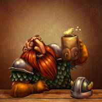 Male Dwarf by Bubaben