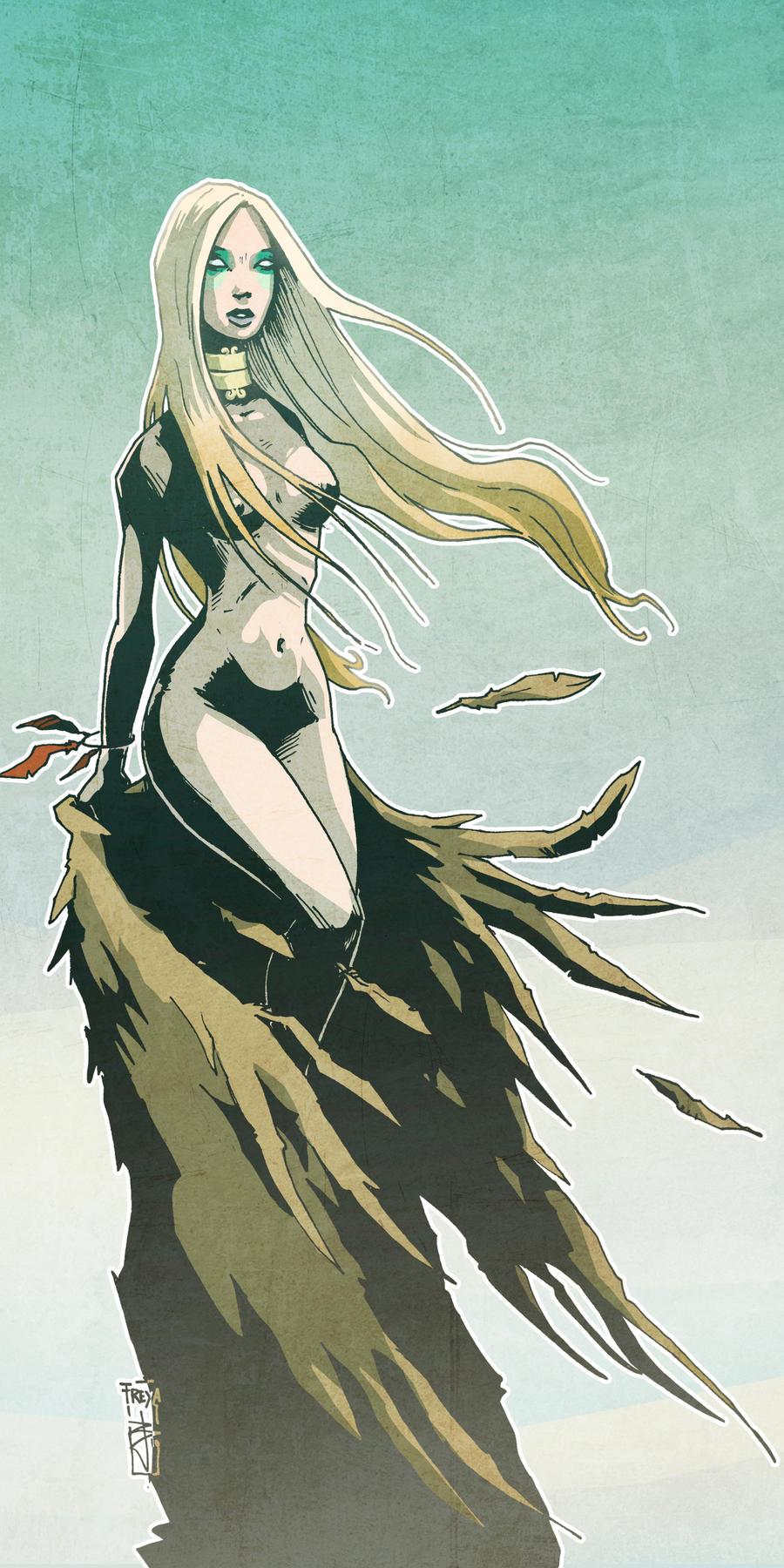 Freya by Bubaben