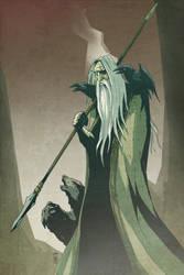 Odin by Bubaben