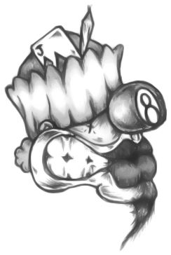 Cholo Clown Drawings
