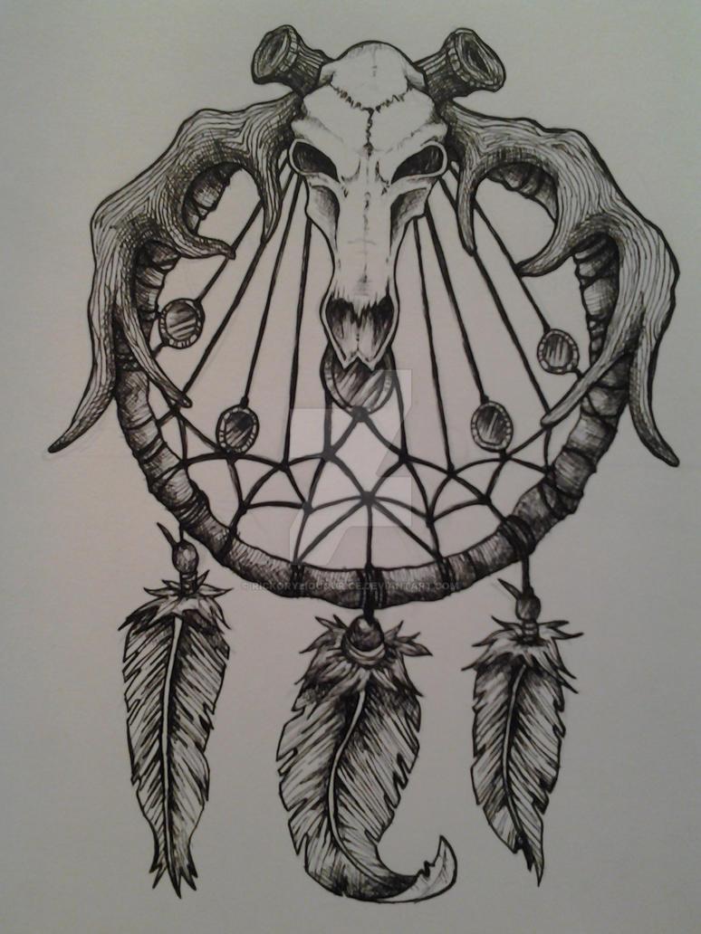 Native Dream Catcher Tattoos Dream Catcher Tattoo idea by RickoryLiquourice on DeviantArt 37