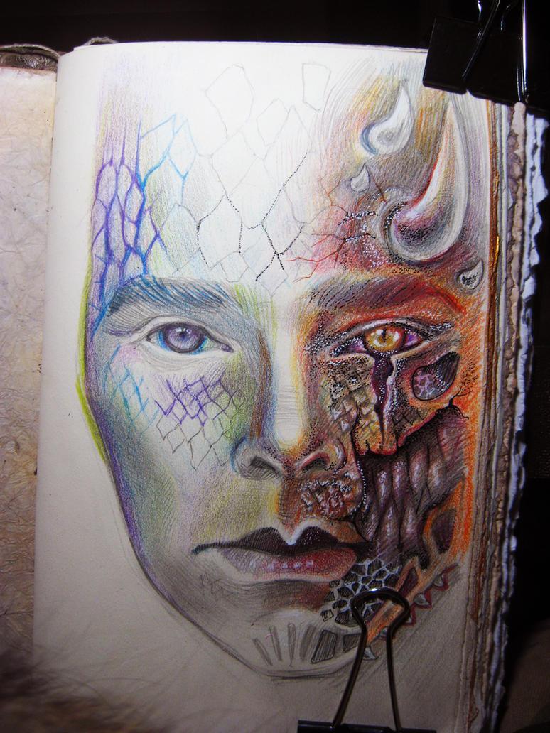 Smaug human by Kommissarito
