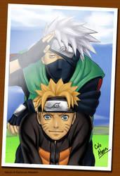 Color : Naruto Kakashi by Alvein23
