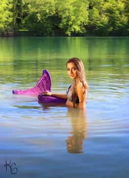 Purple Mermaid II