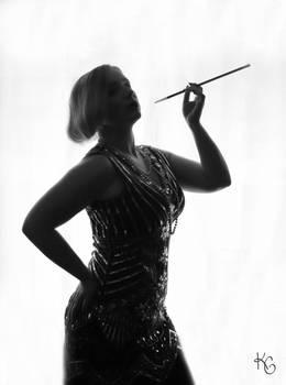 1920s Silhouette II
