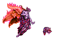 Laughing Autarch Sprite by BinaryDood