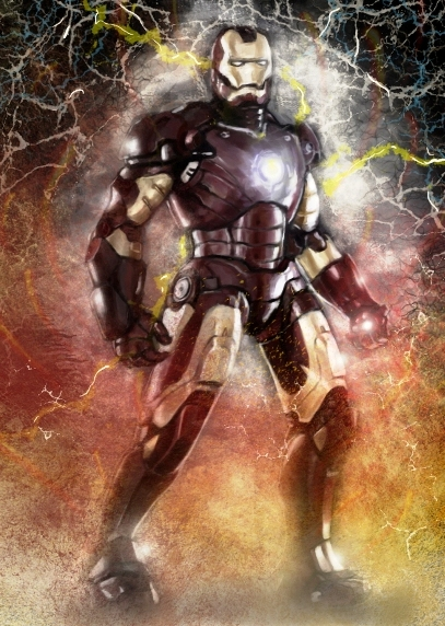 Iron Man practice by BinaryDood