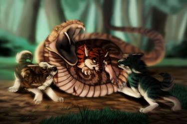 Hellhounds of Kai by taivalsin