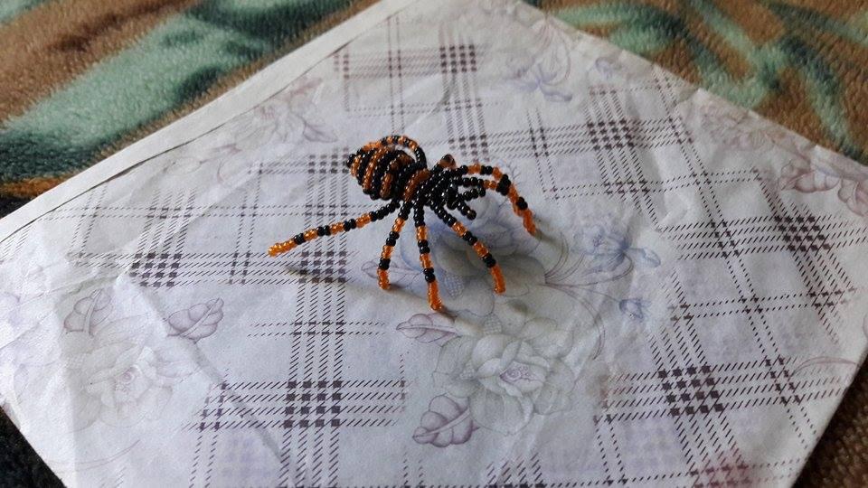 Tarantula (art trade) by Aliana-chan