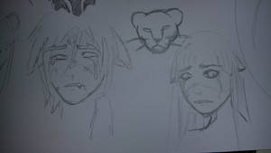 Crying Heroes (sketch)