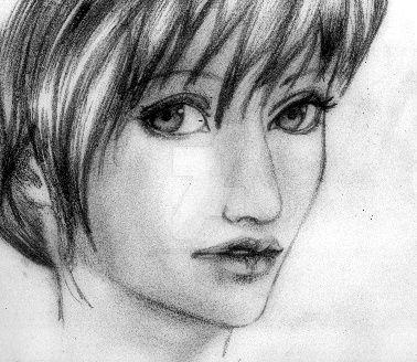 Realistic girl by AtisutoAmani
