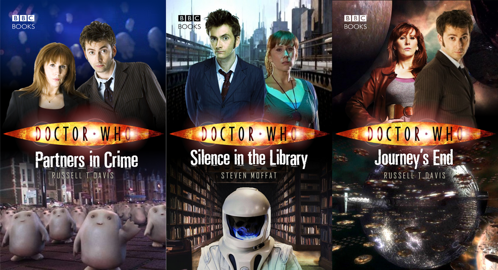 Doctor who book series