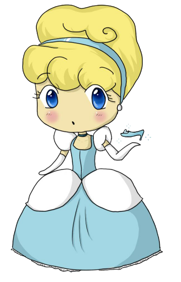 Cinderella Chibi by PuccaNoodles2009