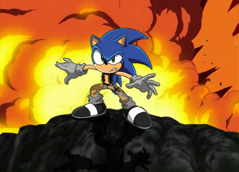 Sonic as a Soldier