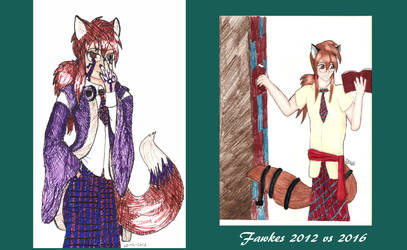 Fawkes Old vs New