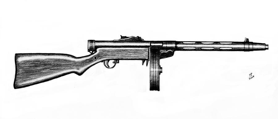 Suomi KP-31 SJR by MjP-70